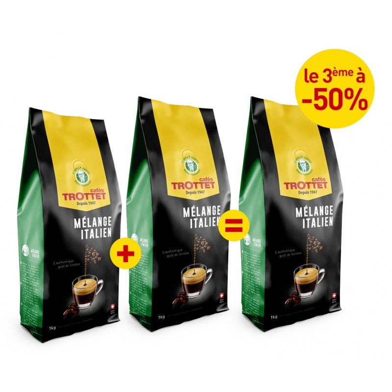 2KG Italian Blend bought, 3rd to 50%