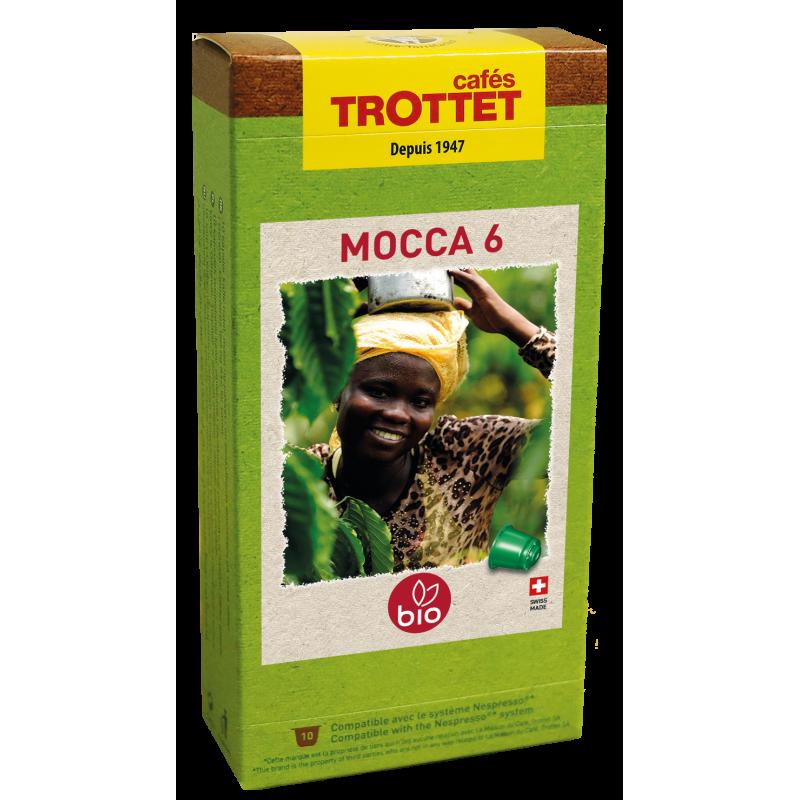 Capsules Mocca 6 Bio 10S