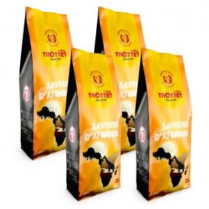 Saveurs d'Afrique 4x250G