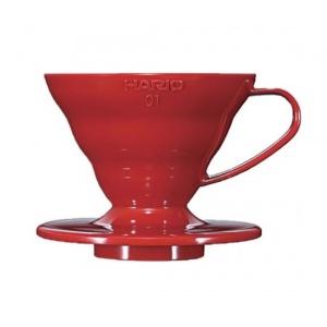 Hario - V60 1-4 Tasses Rouge