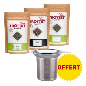 Green tea pack + free infuser