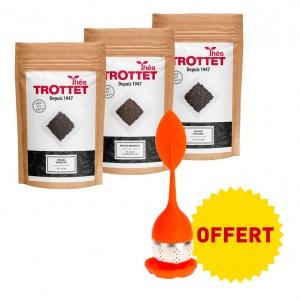 Black tea pack + free infuser