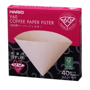 Hario Paper Filters for V60 6-8 Cups