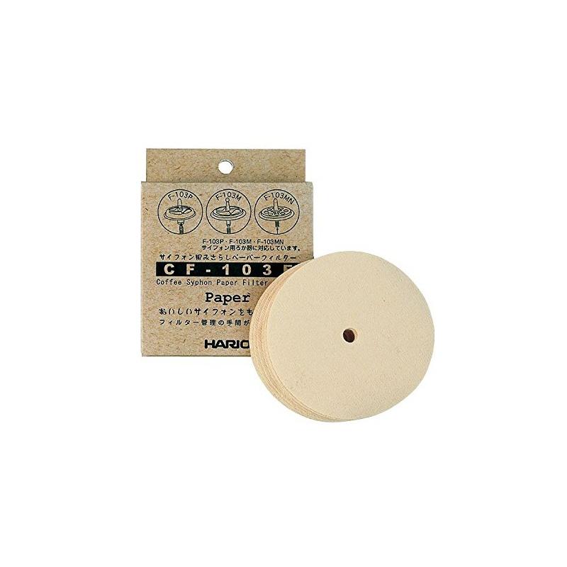 Hario Papierfilter für Siphon 100 P