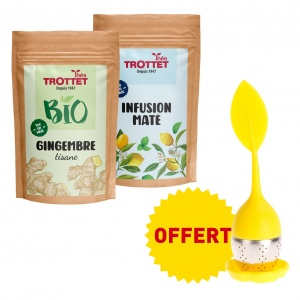 Ingwer-Mate-Aufguss +...