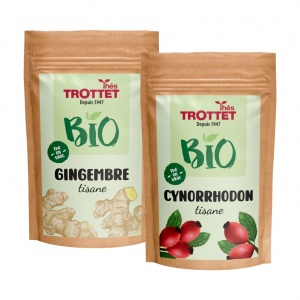 Organic herbal tea pack