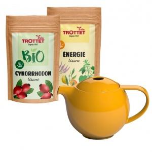 Hagebutte & Energy + Teekanne