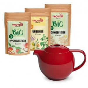 Pain & Nausea Pack + teapot