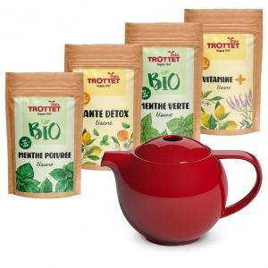 Digestive pack + teapot