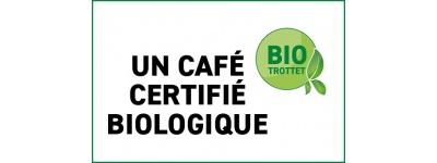 Cafés bio, certifiés biologiques